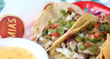 AMERICAN RED SNAPPER TACOS