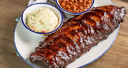 GLAZED DANISH RIBS